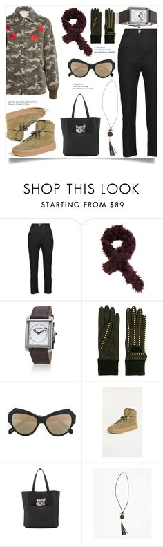 """""""Cropped Crepe Slim-leg Pants"""" by camry-brynn ❤ liked on Polyvore featuring Paul & Joe Sister and Brooks Brothers"""