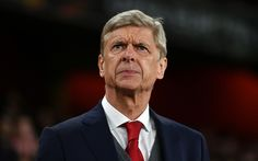 Download wallpapers Arsene Wenger, 4k, French football coach, portrait, Arsenal, London, Premier League