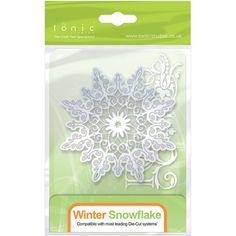 Tonic Studios Christmas Winter Snowflake Die Set