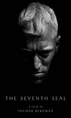 Max von Sidow in The Seventh Seal Poster , 1957