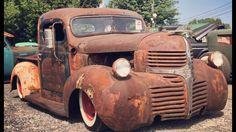 Crazy 40s dodge rat truck