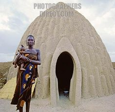Wow!  Musgum earth hut ~ Cameroon, Middle Africa....