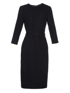 Aida wool-crepe shift dress | Goat | MATCHESFASHION.COM US