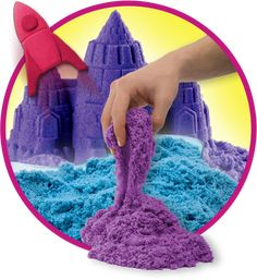 Kinetic Sand is the original squeezable sand you can't put down! Make Kinetic Sand, Next Gifts, True Gift, Autism Parenting, Sleeping Through The Night, Fidget Toys, Light Project, Children With Autism, Relaxing Music