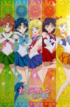 Inner Senshi - Sailor Moon Crystal - Season 3 official artwork