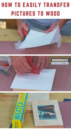 Wouldn't it be nice if you could run a nice chunk of wood through your ink jet printer to lay down a color image onto your project? Of course it would, but most of us have enough problems with our home technology as it is without trying a stunt like that.