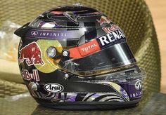 Vettel 2014 Singapore Helmet