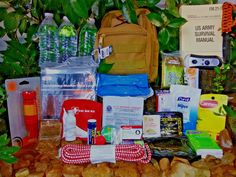 One Person Emergency Bug Out Survival Kit Food Water survival manual   #Camping #SurvivalGear