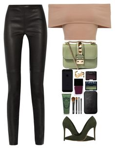 """""""Valentino look"""" by imperiouspuma ❤ liked on Polyvore featuring Proenza Schouler, Valentino, Schutz, Witchery, NARS Cosmetics, Sisley, Yves Saint Laurent, women's clothing, women's fashion and women"""