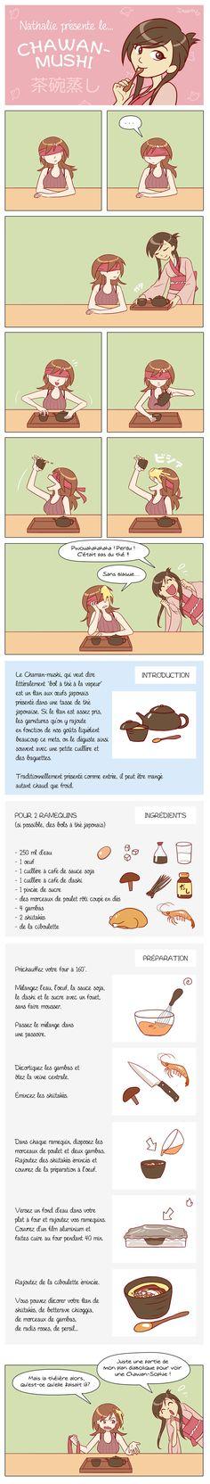 CUISINE - La recette du Chawanmushi en BD