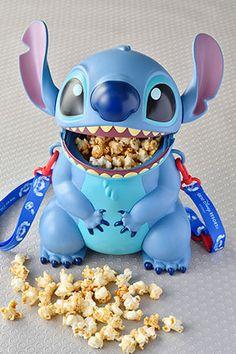 Lilo & Stitch Stitch Popcorn Bucket with Strap Tokyo Disneyland Lilo En Stitch, Lilo And Stitch Quotes, Stitch Toy, Disney Home, Disney Art, Disney Stuff, Disney Popcorn Bucket, Deco Disney, Disney Collection