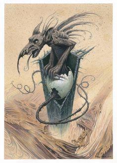 Gargoyle by  Valery Petelin