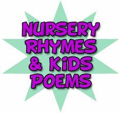 Preschool nursery rhymes and fun preschool kid poems for teaching and entertaining children.