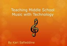 Love this story: Teaching Middle School Music with Technology on Narrable.com Enjoy!