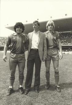 Maradona, Cruyff and Schuster