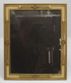 French Victorian accessories easel picture frame gilt