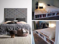 Comodini fai da te originali per la camera da letto - Rubriche ...