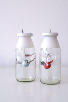 Bird in a Jar Nightlights | 41 Coolest Night Lights To Buy Or DIY