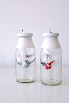 Bird in a Jar Nightlights   41 Coolest Night Lights To Buy Or DIY