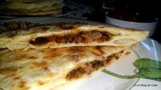 Le blog de Cata: Naans à la viande hachée- Tandyr nan Steak Tartare, Naan, Cheese Nan, Lasagna, Cooking, Breakfast, Ethnic Recipes, Paninis, Meatball