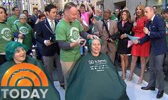 """St. Baldrick's PR agency, FleishmanHillard, successfully secured an innovative live segment on NBC's """"TODAY"""" show, earning millions of impressions and raising significant funds for childhood cancer research."""
