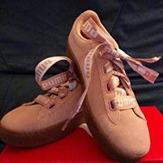 d3924d4263e Puma Damen Vikky Platform Ribbon Bold Sneaker