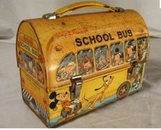 best selling tin lunch box which was the Disney School Bus box.