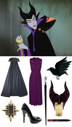 How to dress like Maleficent this Halloween.