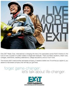 EXIT Realty has a unique ingredient; one that is revolutionizing the real estate industry. Known as the EXIT Formula, this new earnings generator has been specifically engineered to enhance the return on invested time for brokers and salespeople alike.