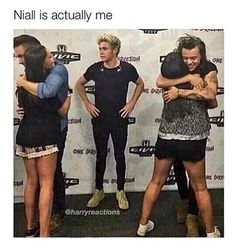 Niall is me.... *hugs niall*