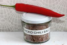 Kreative Ideen rund ums Basteln, Scrapbooking , Kochen und Backen: Schoko Chili Salz
