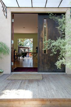 One of the nicest front door/entry ways I've ever seen.