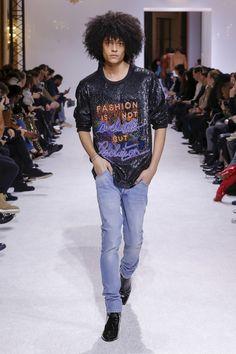Balmain Fall 2018 Menswear Collection - Vogue