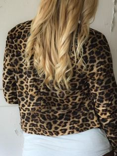 Wild Thing, Cropped Faux Suede Leopard Print Blazer – Blessed Berry Boutique
