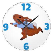 """""""Rabbit"""" ACRYLIC WALL CLOCK"""