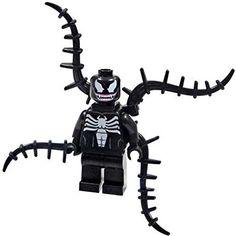LEGO Super Heroes Spider-Man Minifigure - Venom with Black Spines (76004)
