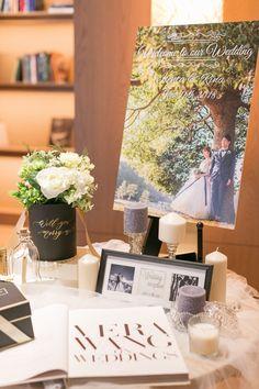 最近はみんなどんな感じ?おしゃれなウェルカムスペースのお手本まとめにて紹介している画像 Tree Wedding, Wedding Table, Our Wedding, Space Wedding, Wedding Paper, Welcome Boards, Wedding Welcome, Wedding Coordinator, Projects To Try