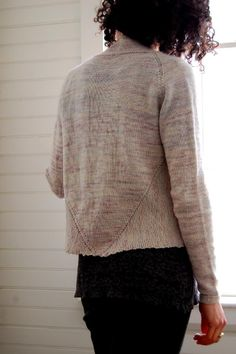 e564a7c19ec4b Love the clean lines and easy to wear details of Bristol Ivy s Newsom  Cardigan Pattern