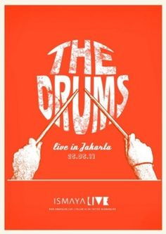 The Drums Poster - Live in Jakarta