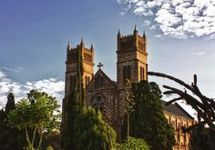 Peters Cathedral in Harare Zimbabwe Victoria Falls, Zimbabwe, Cathedrals, Amazing Places, Travel Guides, South Africa, The Good Place, Cities