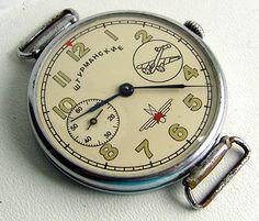 Vintage Soviet pilot watch