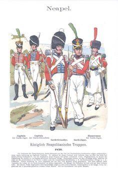 Band IV #10.- Neapel. Königlich Neapolitanische Truppen. 1820.