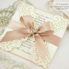 'White Ivy' invitations by The Boutique Paper Co. 'White Ivy' invitations by Th Quince Invitations, Lace Invitations, Quinceanera Invitations, Wedding Invitation Cards, Wedding Stationery, Wedding Cards, Invitation Design, Invites, Wedding Prep