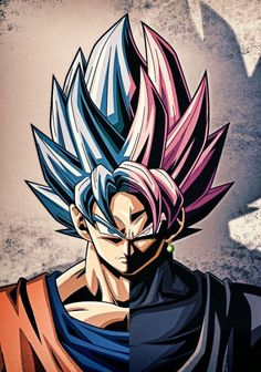 Fusión Black & son goku