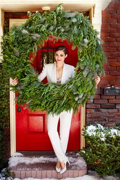 Now that's a wreath!