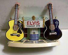 Elvis Tonight Guitar Salt & Pepper Shakers Vandor