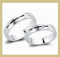 Sehr schöne Silberringe als Trauringe  bei der Trauringoase im Angebot.