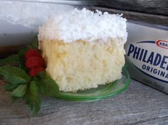 COCONUT REFRIGERATOR CAKE 9x13 version