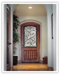 Exterior doors are one of the core replacement products of Liberty Builders of Texas. There is no question that replacing an old rotten exterior door can help to drastically improve a home's appearance, not to mention energy efficiency. Front Door Entryway, Front Door Porch, Porch Doors, Glass Front Door, Front Door Decor, Entry Doors, Glass Door, Front Doors, Entrance