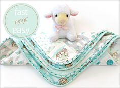 Baby Cheater Quilt | Sew4Home